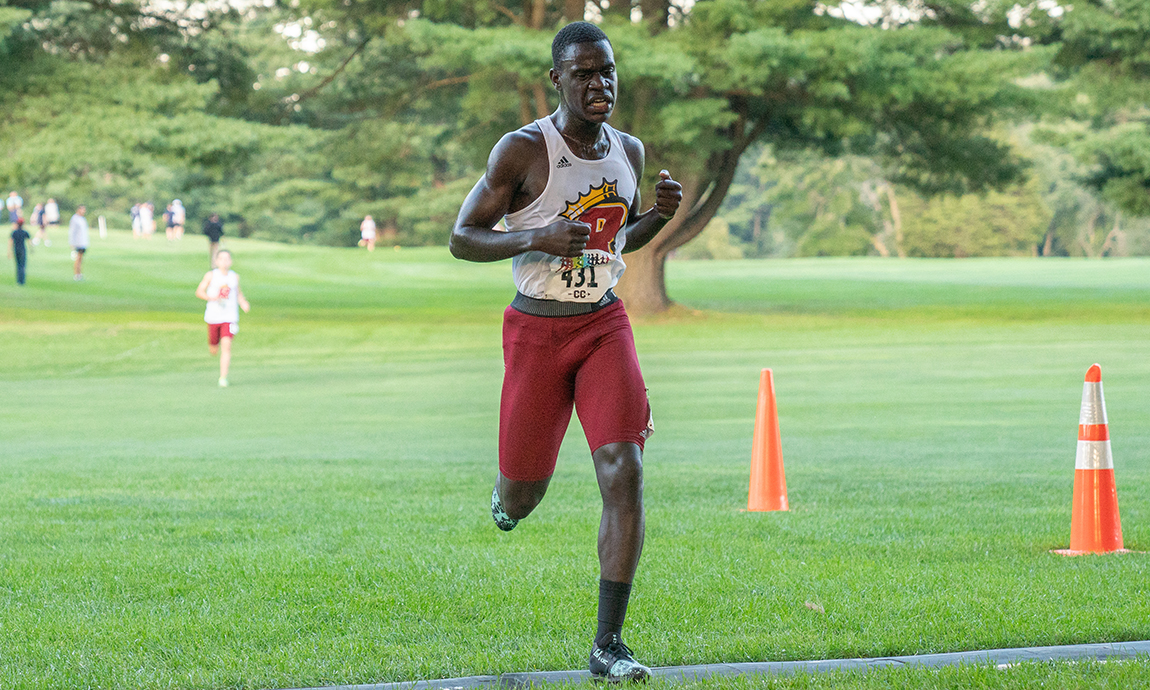 Pride Men's Cross Country Finishes Sixth at Suffolk Invite