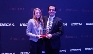 Rebecca Maine selected USCAA Student-Athlete of the Year Award