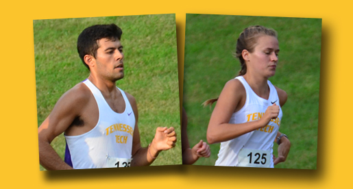 Greene, Cline pace Tech runners in OVC Champiponships