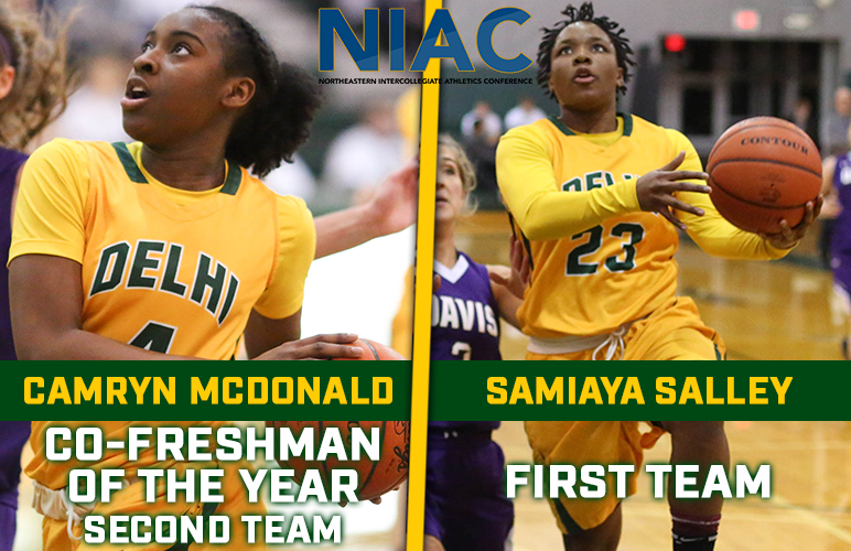 NIAC Names Salley to First Team, McDonald Co-Freshman of the Year and Second Team