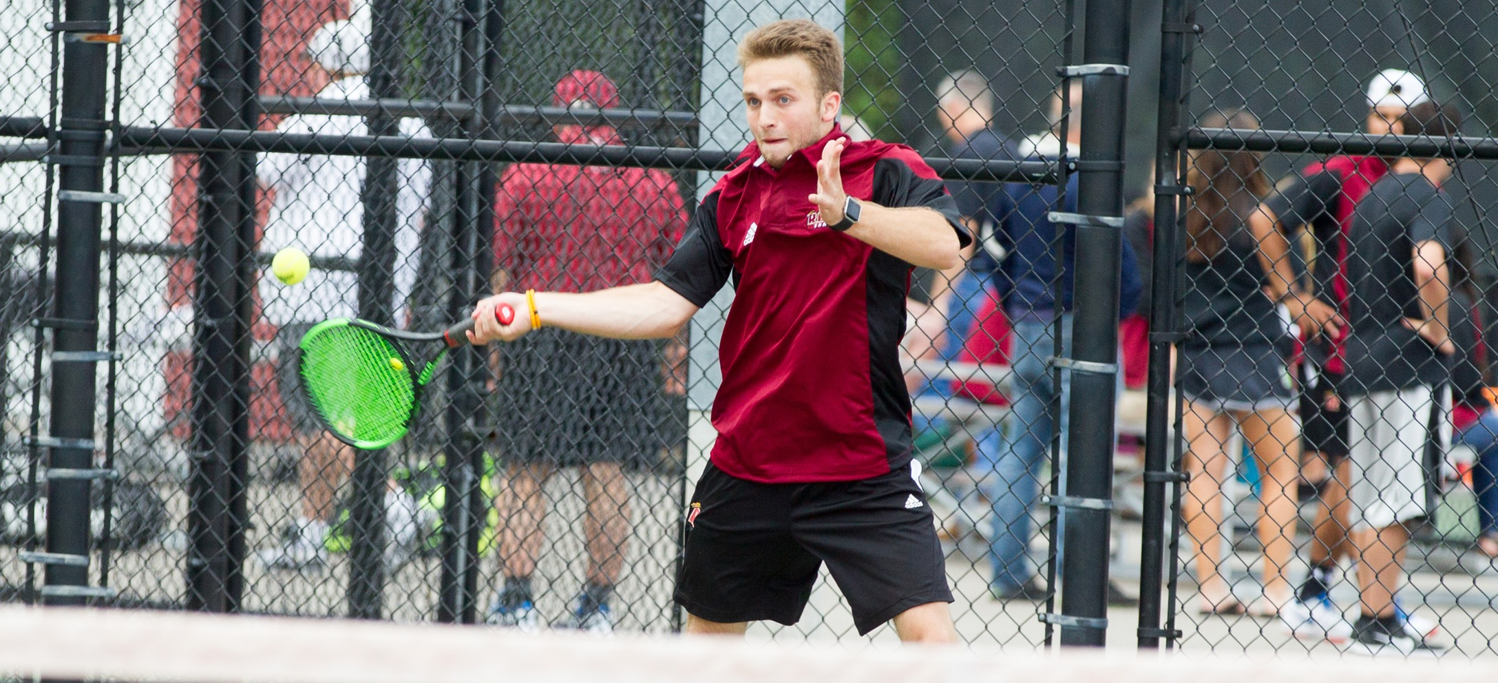 Men's Tennis Edges Shorthanded Monmouth (Ill.) In Spring Opener