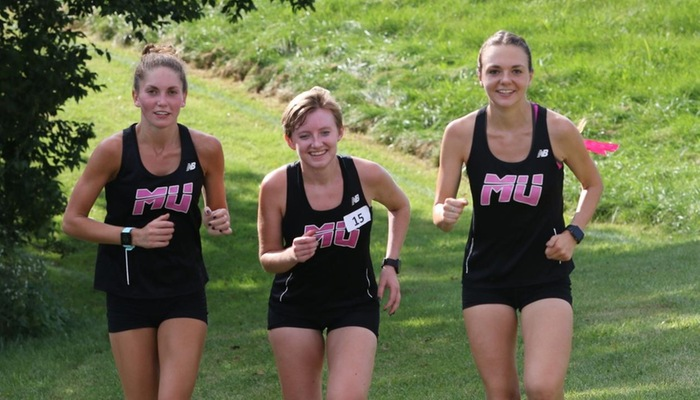 McAdams leads the Women's Cross Country team at All-Ohio Championships