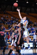 UCSB Claws Its Way Back To Defeat Cal State Fullerton 59-58 In Overtime