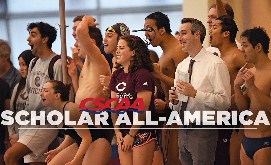 UChicago Swimming & Diving Earns Program-Record Scholar All-America Honors