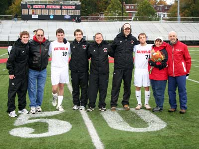CUA and Drew battle to 1-1 draw; Cardinals earn top seed