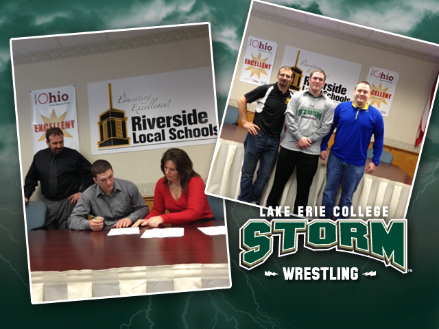 Riverside High's Evan Rosborough is the first member of the Storm's 2013 recruiting class.