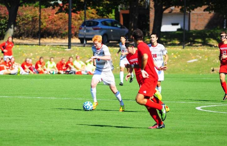 Webb Scores Two Goals to Lead Tartans in 2-1 Victory Over NYU