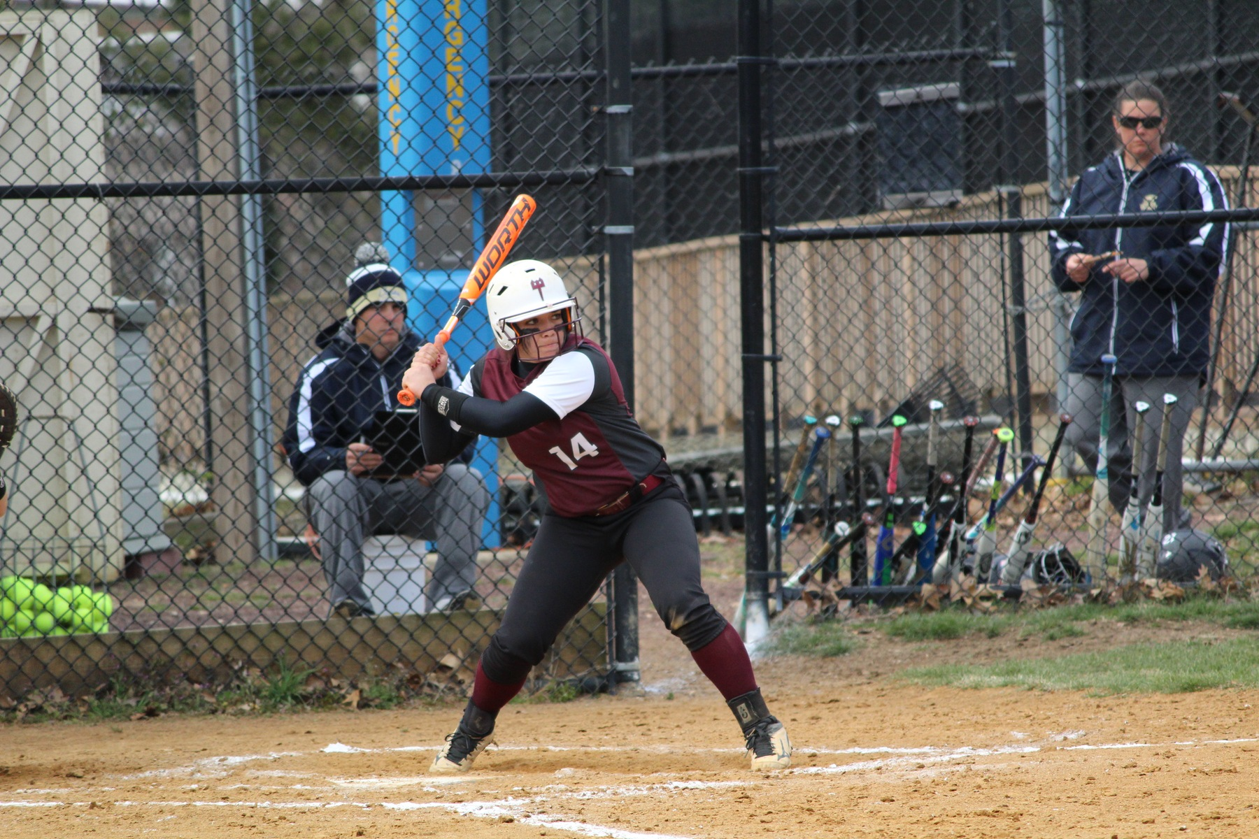 Devils Softball Late Rally Unable To Overtake Post