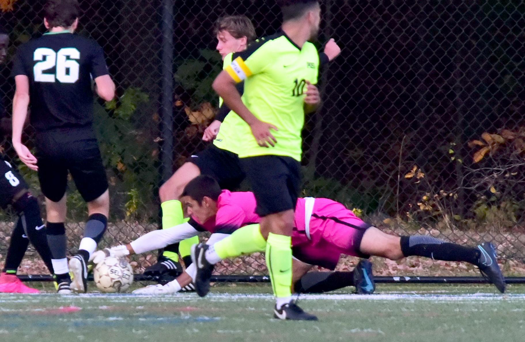 Wilmington Men's Soccer Plays to Scoreless CACC Draw at Post