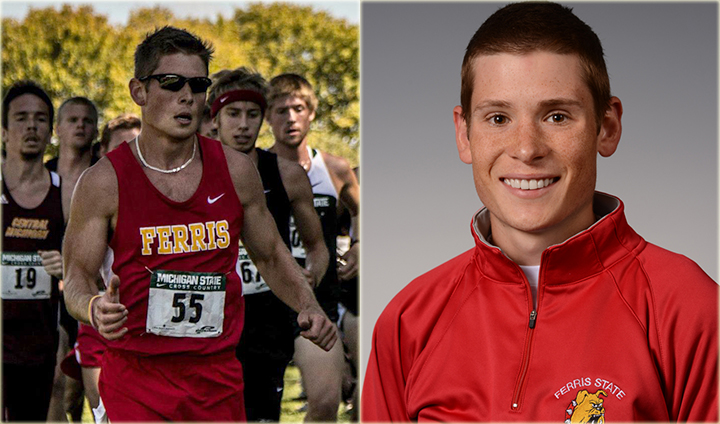 Ferris State's Brandon Cushman Attains GLIAC Runner Of Week Honors