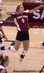 Potter Named WCC Volleyball Player of the Week
