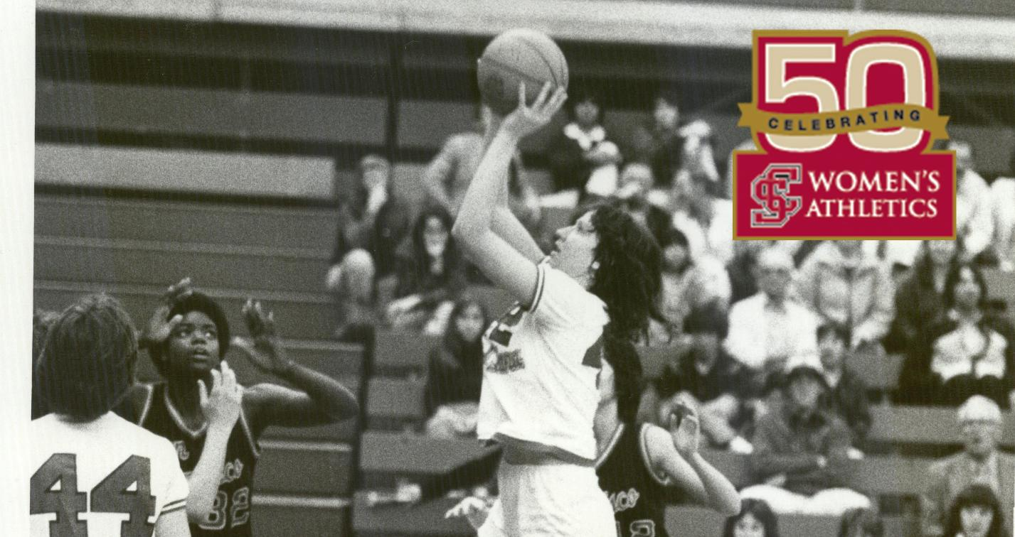 BACK IN MY DAY: Liz Bruno '82 Looks Back As Part of the 50th Anniversary of Women's Athletics