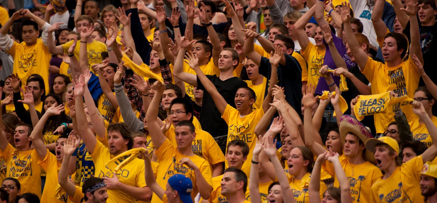 UCSB Thunderdome Crowd (Photo by Vince Agapito)