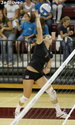 No. 23 Bronco Volleyball Tops SJSU, 3-1