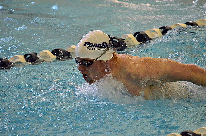Men's Swimming and Diving Shatter Records at AMCC Championships
