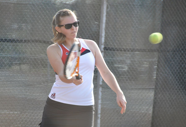Women's Tennis: Panthers edge NAIA Reinhardt 5-4 for first win