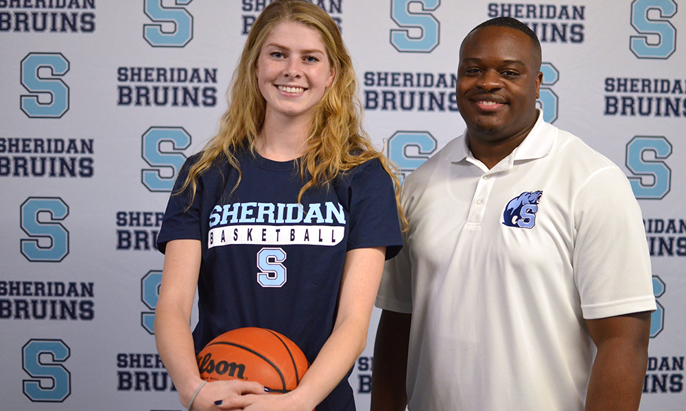 Women's basketball adds post-secondary experience with third recruit