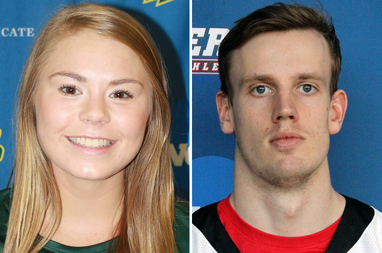 McDaniel's Bauman, Haverford's Frost Named Scholar-Athletes of the Year