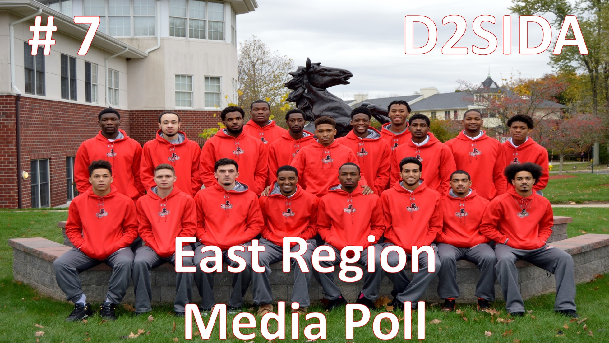 MEN'S BASKETBALL MOVE UP ONE SPOT IN LATEST D2SIDA EAST REGION RANKINGS