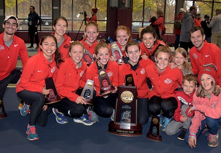 Washington University Captures Top-Five NCAA Finishes for Second Straight Year