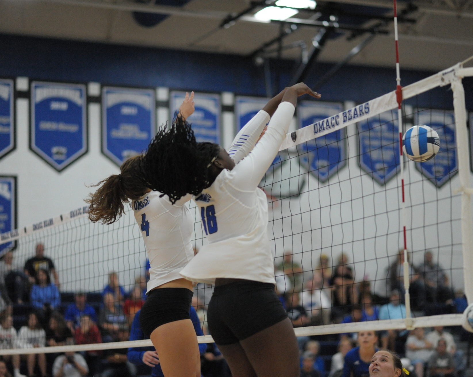 DMACC volleyball team suffers first loss of the season