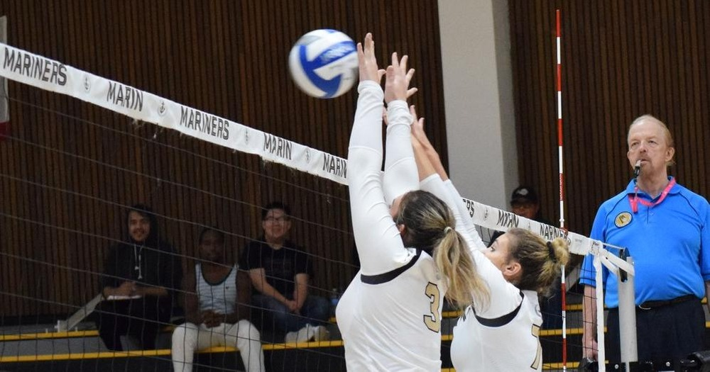 College of Marin Volleyball Drops Haughtily Contested Match to Los Medanos 3-1