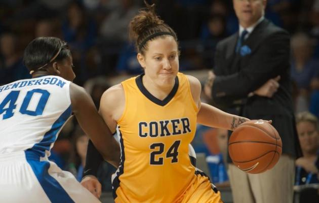 Second Half Surge Leads Coker to Win, 76-61