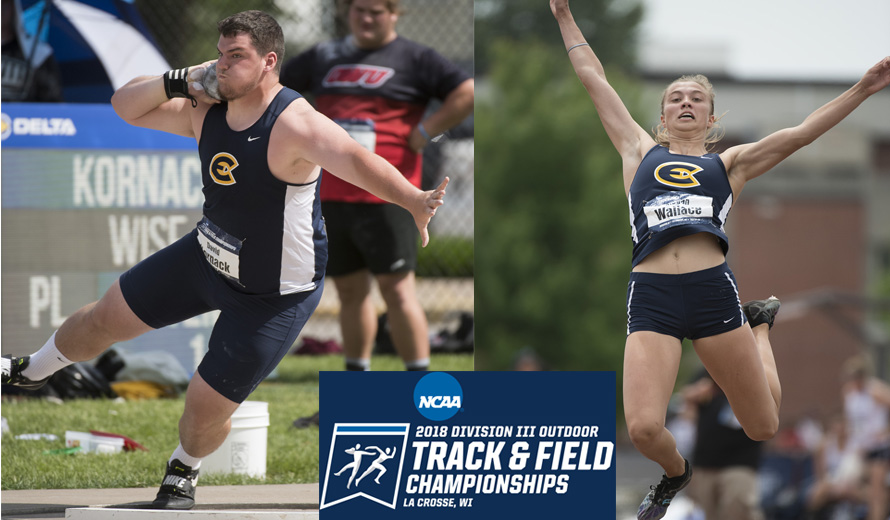 Kornack, Wallace earn All-American honors at NCAA Championship