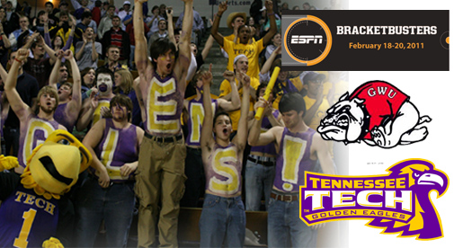 Golden Eagles to host Gardner Webb Feb. 19 in Bracket Buster