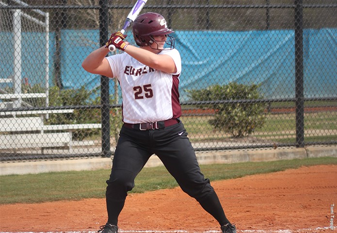 EC Softball continues to roll, picks up two more victories Monday