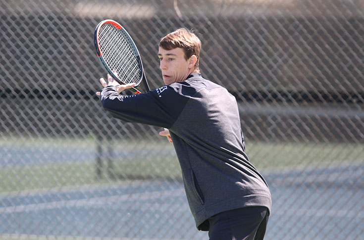 Men's Tennis: Panthers take 5-4 USA South road win at Brevard