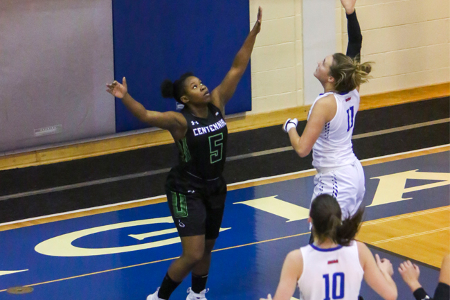 WOMEN'S BASKETBALL CLOSE OUT FIRST HALF WITH WIN OVER COLTS