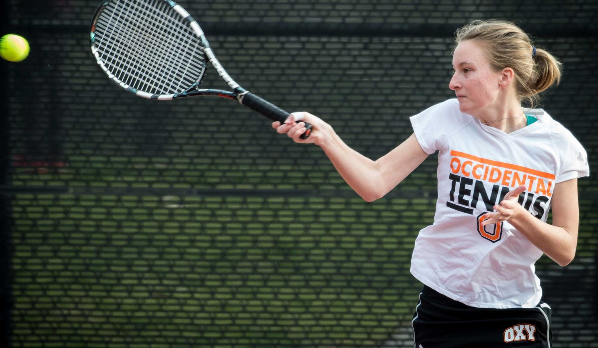 Farrell Wins Again at No. 1 Singles
