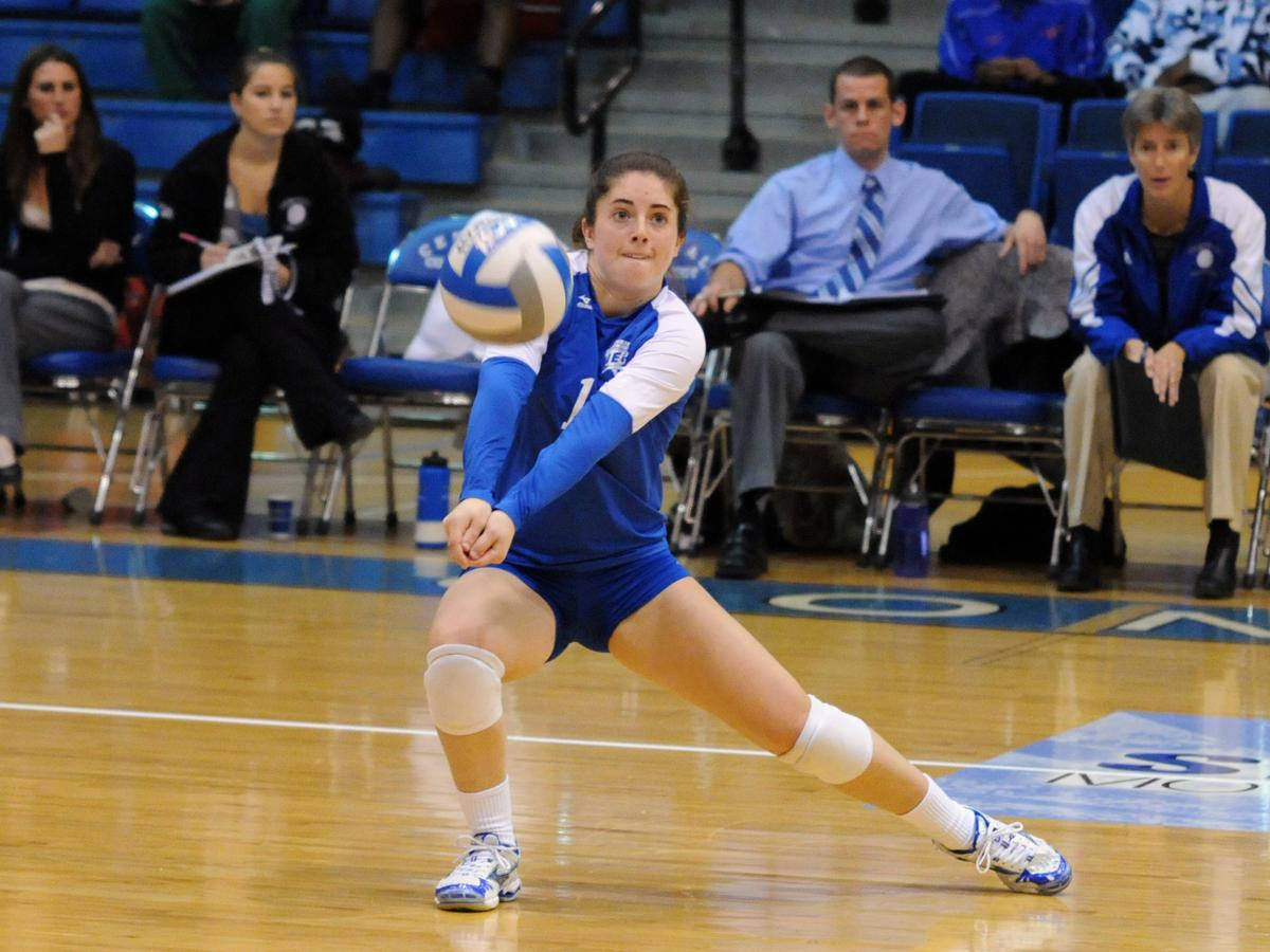 Petrella Records Season Best 28 Digs, CCSU Falls in NEC Quarterfinal