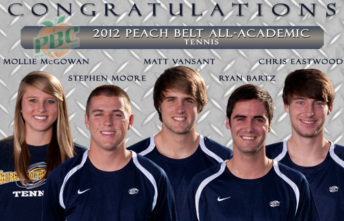 'Canes Lead PBC with Five All-Academic Tennis Selections