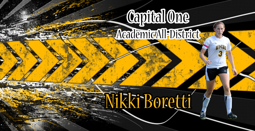 Boretti Earns Spot on Capital One Academic All-District Team