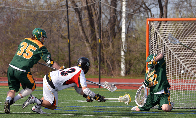 Men's Lacrosse stays alive in CC race with win over McDaniel