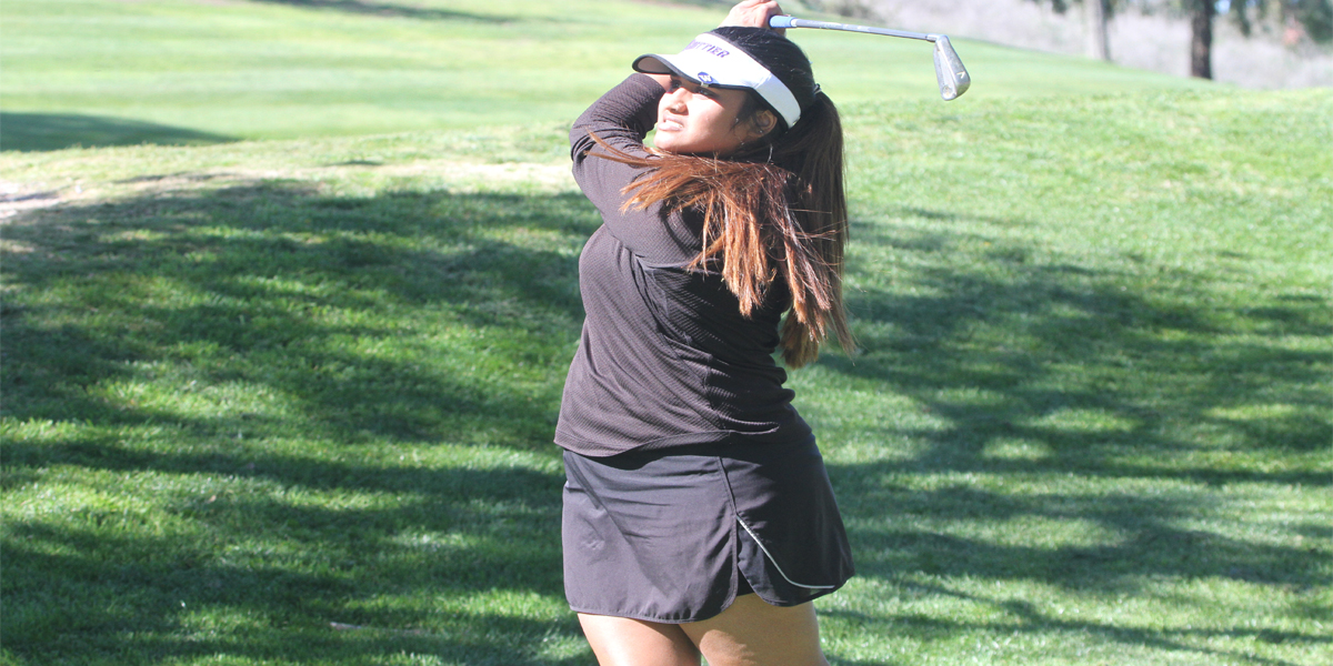 Women's Golf finishes fourth at SCIAC No. 2