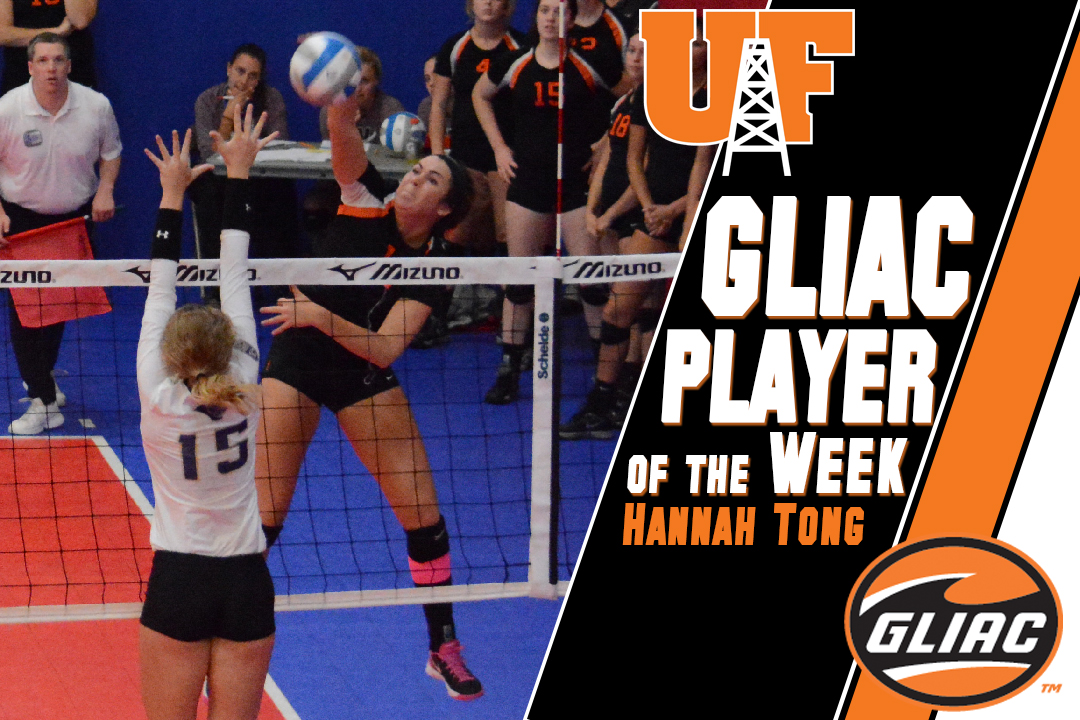 Hannah Tong Named GLIAC Player of the Week