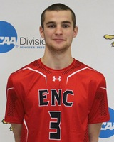 Eastern Nazarene's Sorensen Tabbed NECC Men's Volleyball Rookie of the Week