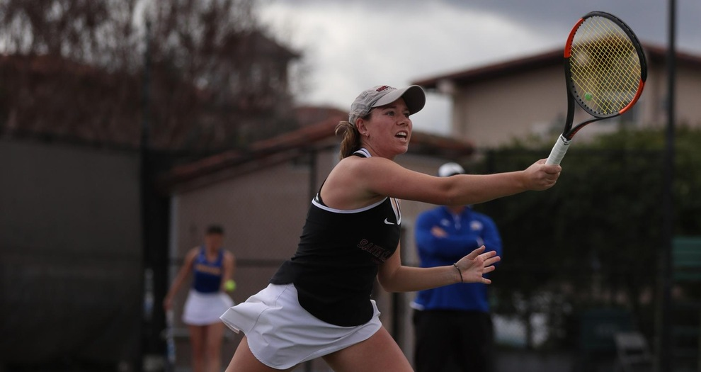 Women's Tennis Visit The Hilltop to Face San Francisco on Saturday