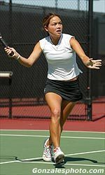 Women's Tennis Beats Cross-town Rivals