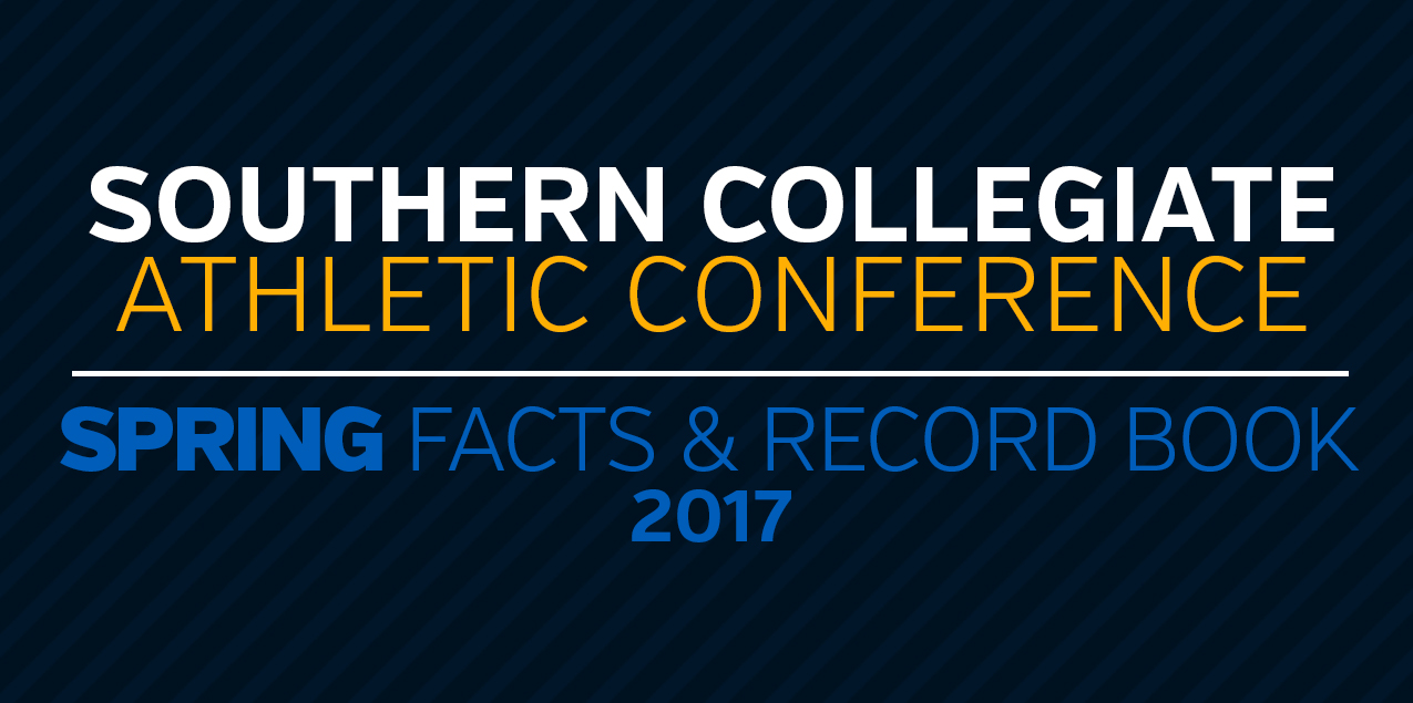 2017 SCAC Spring Record Book