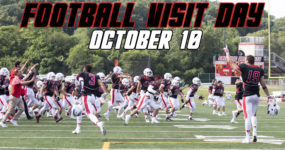 Catholic Football Visit Day Set for October 10
