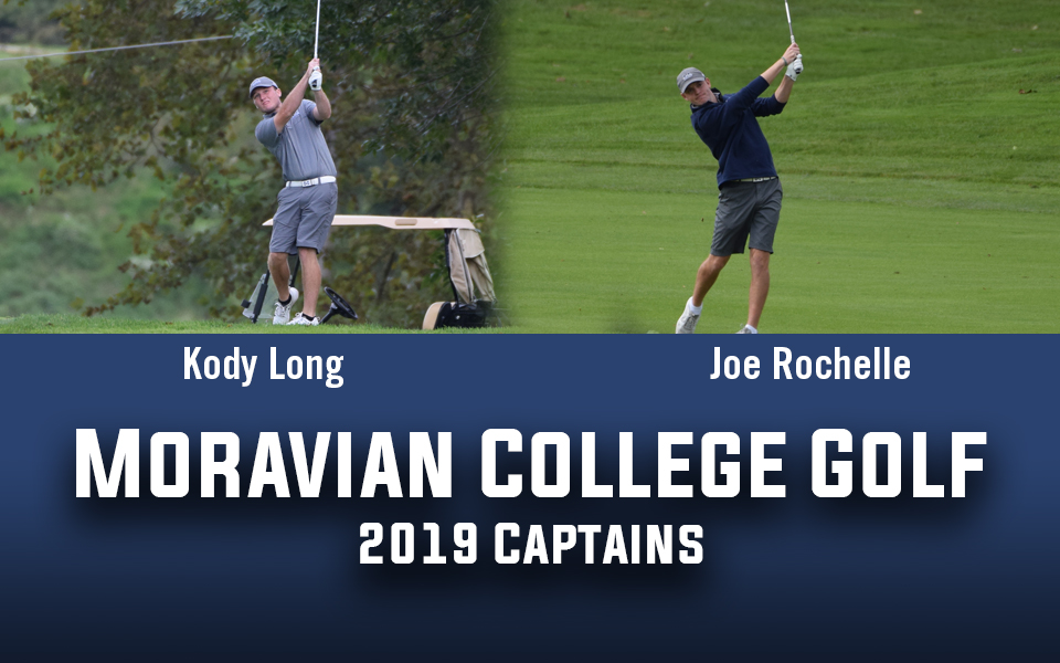 Kody Long and Joe Rochelle named golf captains