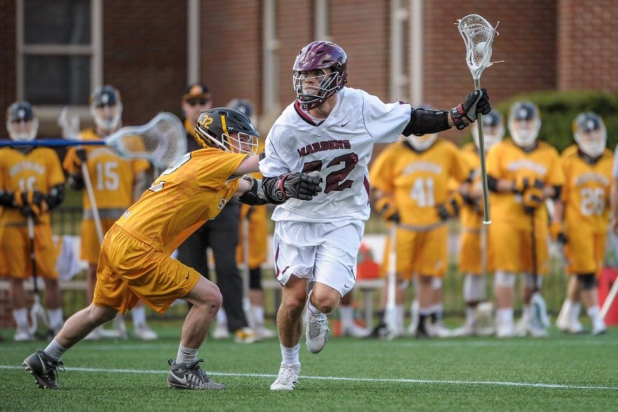 No. 16 Roanoke Upends Bridgewater in ODAC Men's Lacrosse