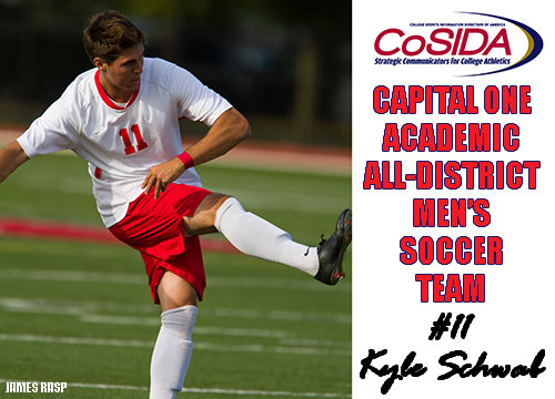 Schwab Named Co-SIDA/Capital One Academic All-District