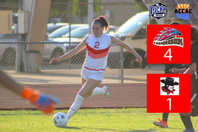 Women's Soccer Moves to 3-0 with 4-1 Victory Over Glendale