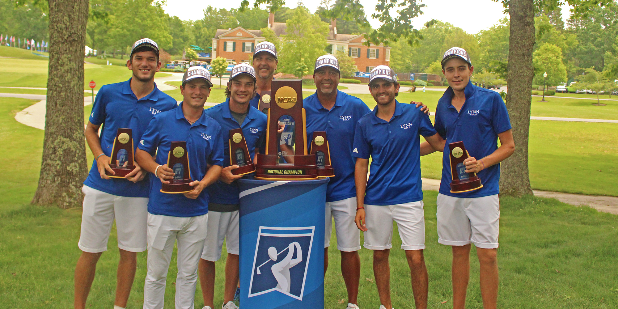 BACK-2-BACK NATIONAL CHAMPIONS! Lynn Men's Golf Tops Lincoln Memorial for NCAA Title