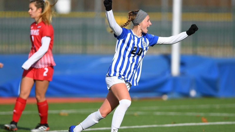 Women's Soccer Advances to NEC Championship Game With 3-1 Win Over Sacred Heart